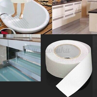 33ft 2 White Waterproof Transparent High Grip Non Anti Slip Tape Adhesive Us