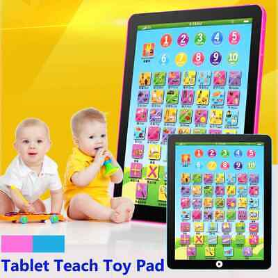 1-6 Year Old Toddler Learning English Educational Computer Tablet Teach Toy
