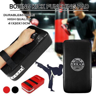 1//2x Kick Boxing Sparring Karate Muay Arm Pad Punch Bag Shield Training  #