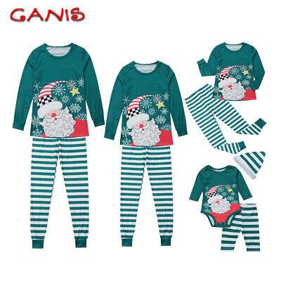 Cute Adult Pajamas (Christmas Family Matching Cute Pajamas Adult Women Kids Baby Sleepwear Set)