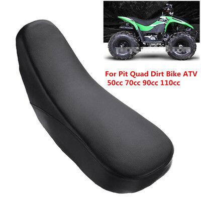 1x Black Foam ATV-Seat For Pit Quad Dirt Bike ATV 4 Wheeler 50cc 70cc 90cc 110cc