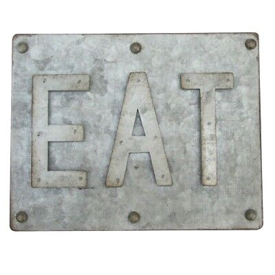 Rustic 3d Metal Eat Sign Farmhouse Kitchen Restaurant Diner Cafe Home Wall Decor