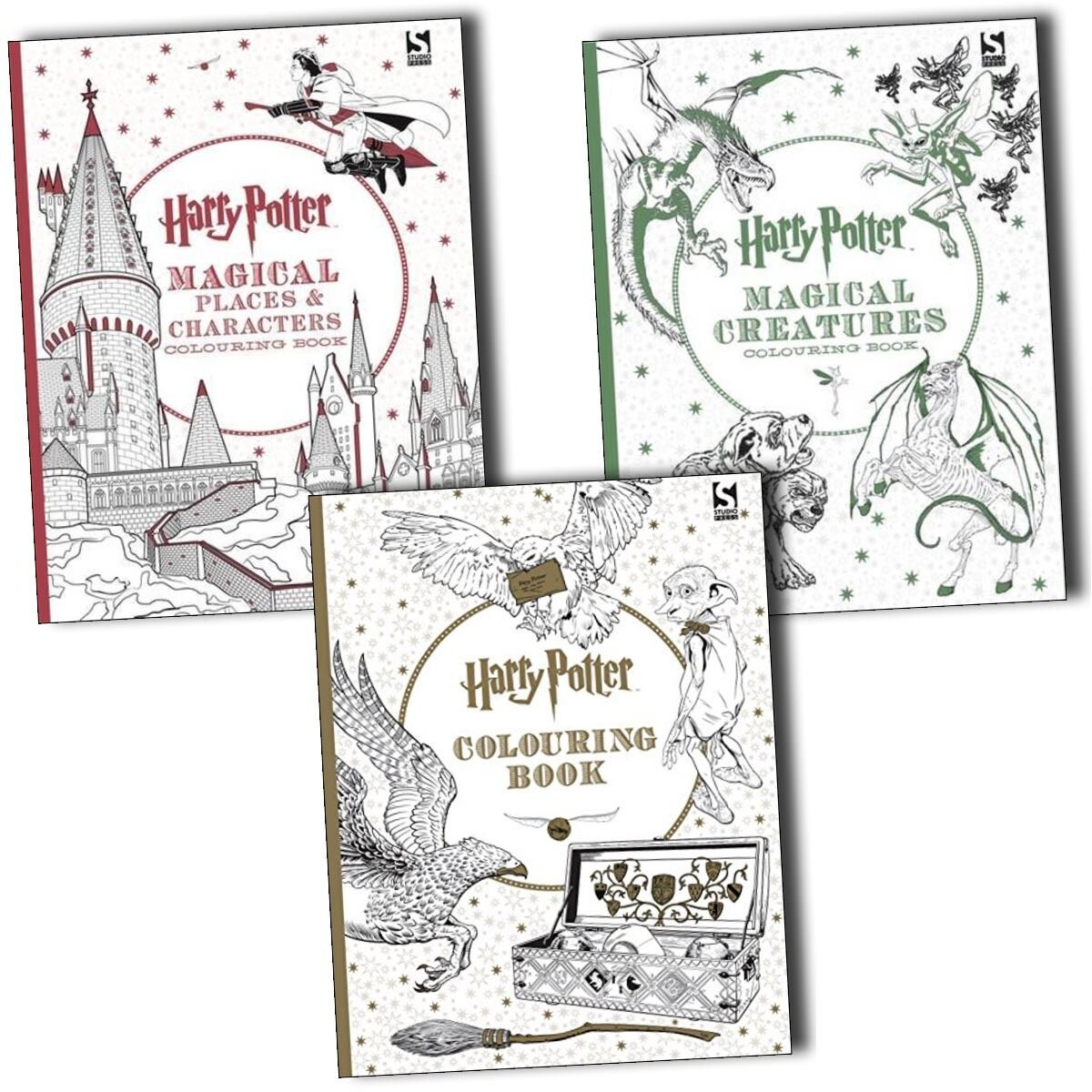 Harry Potter Book Lengths Pages : Harry potter magical creatures and