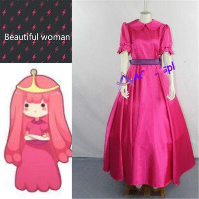 Adventure Time Princess Bubblegum Cosplay Costume custom made (Princess Bubblegum Cosplay)