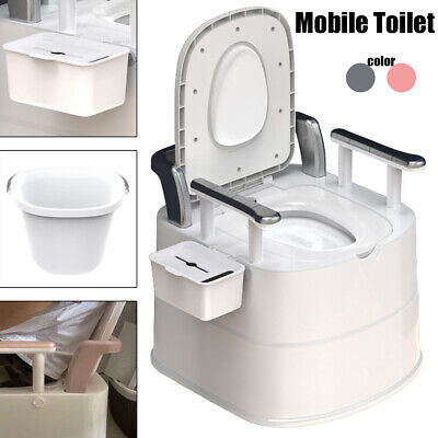 Portable Toilet Flush Travel Vehicle Potty Indoor Outdoor Commode Tra 2021