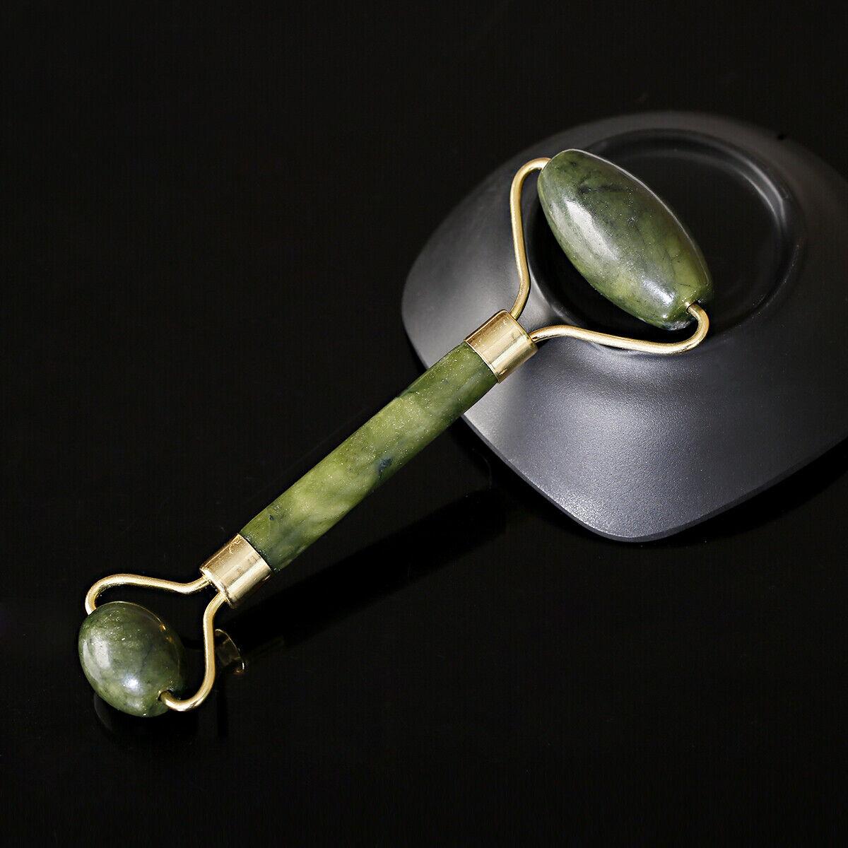 1 Pack Jade Roller Face Body Eye Kit Gua Sha Anti Aging Wrinkle Massager Tool 1