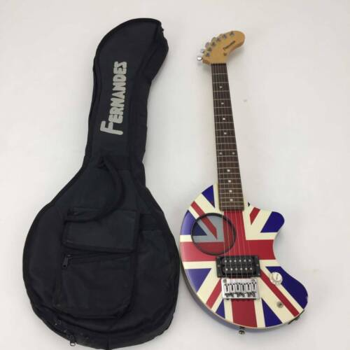 USED Electric Guitar FERNANDES ZO-3P UK England Union Jack Color