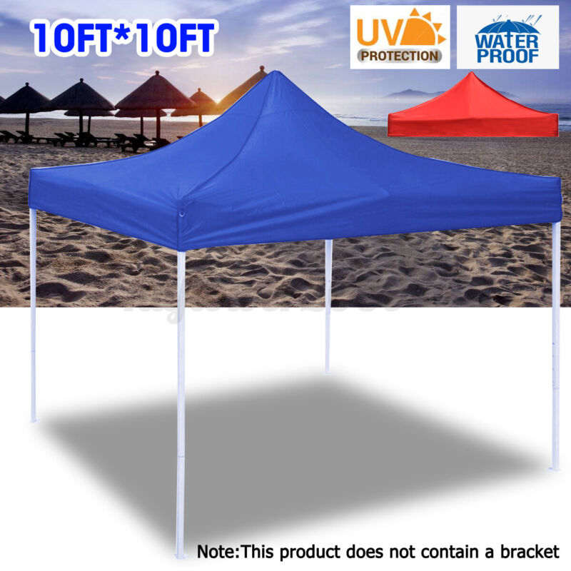 10x10FT Replace Canopy Top Patio Pavilion Gazebo Tent Sunshade Cover Waterproof