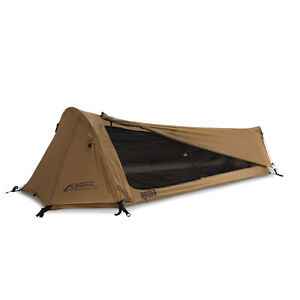 MMI-Tactical-Raider-Tent-Coyote-Brown-Individual-Shelter-Lightweight-SOCOM-Bivy