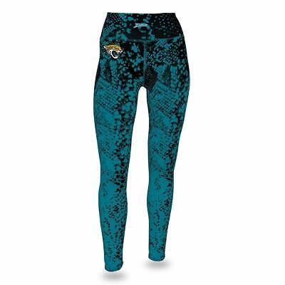 Zubaz NFL Women's Zubaz Jacksonville Jaguars Logo - Zubaz Leggings