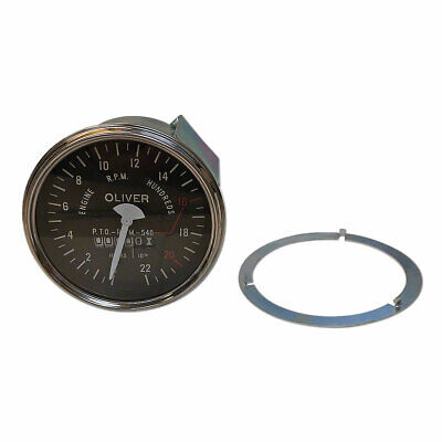 Tach Super 55 Super 66 550 660 100575-a  Tachometer Hour Oliver 133