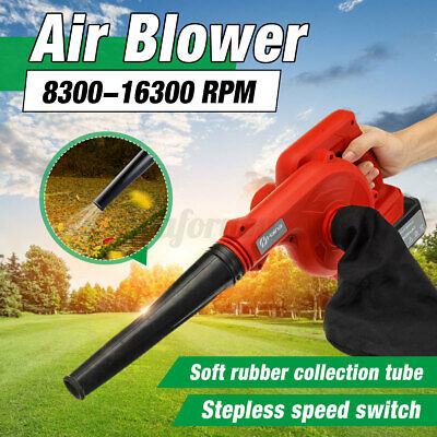 New Electric Leaf Blower Waste Collection Bag Garden Vacuum Shredder Mulcher
