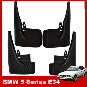 GENUINE BMW 5 Series E34 1988-1996 Fully Tailored Mud flaps