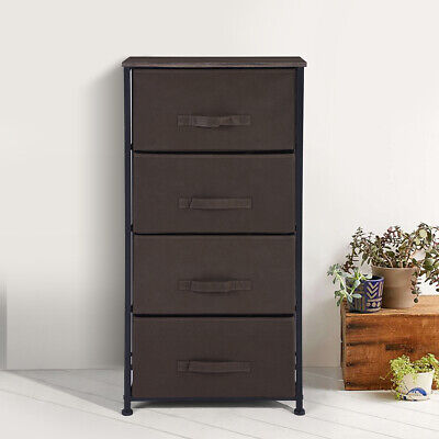 New Storage Cabinet File Cabient Rack 4 Drawer For Home Kitchen Office