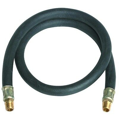 """3 ft. x 3/8"""" Air Hose Lead with 1/4""""-18 NPT"""
