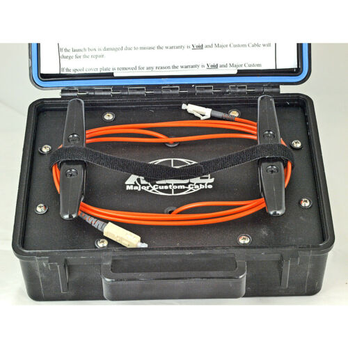 Major Custom Cable MCC Launch Box LC/SC OTDR Single Mode Dry Box Case 350FT