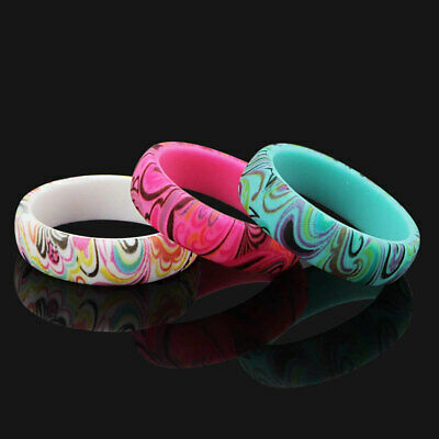 3 Silicone wedding ring Women rubber band Modern New Design Style sport Yoga (New Modern Designer)