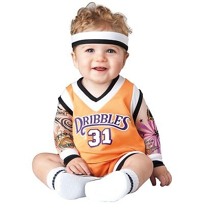 Basketball Costume Baby Sports Player Halloween Fancy Dress