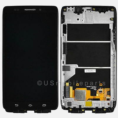 Motorola Droid Ultra XT1080 MAXX 1080M LCD Screen Digitizer Touch Frame Assembly on Rummage