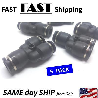 14 T Fitting Pneumatic Air Line Push Connector - 0.25 T Part Fitting 1 To 2