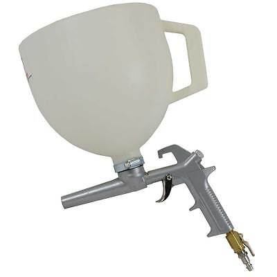 Kraft Vinyl Chip Broadcast Spray Gun Hopper For Epoxy Floor Finishing Pc801