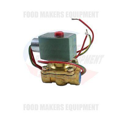 Baxter Ov210-m2b Rack Oven Solenoid 2 Way Valve 12 - 120v.