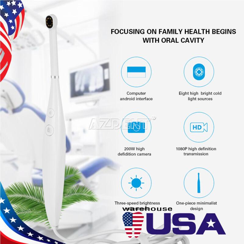 Dental USB Intraoral Camera Endoscope HD 8 LED Photo Mirror