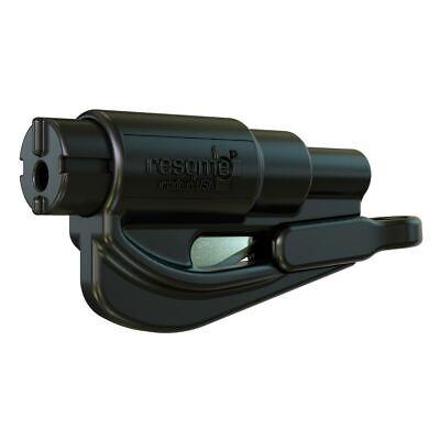 resqme® Car Escape Tool - Black, 1 pack, Seatbelt Cutter / Window Breaker
