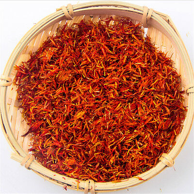 10g Chinese red flowers medicines herbal whole sale net saf flower