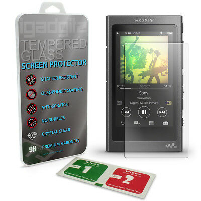 Tempered Glass Screen Protector for Sony Walkman NW-A35 A40 A45 Shatterproof 9H