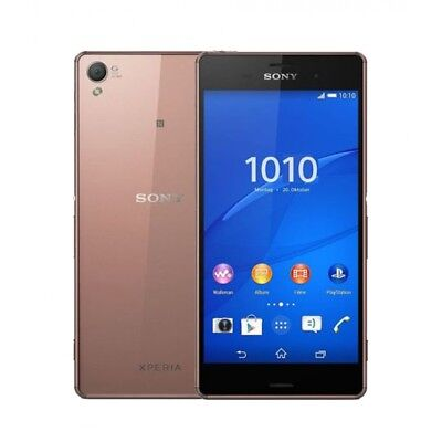 Sony Xperia Z3 D6603 16GB 4G Unlocked Android Smartphone In Copper Gold