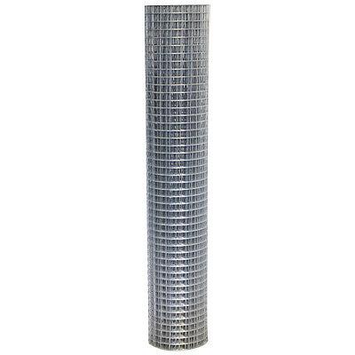 Welded Wire Mesh 0.9 x 30m Galvanised Steel Fencing 25mm Holes Animal Enclosures