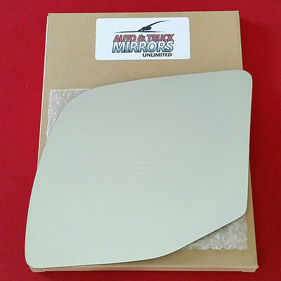 NEW Mirror Glass + ADHESIVE 92-07 FORD E150 ECONOLINE VAN Driver Left Side POWER ()