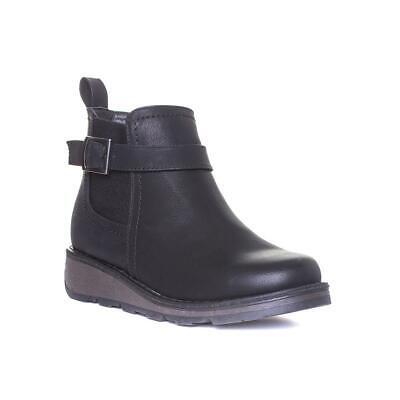 Womens Wedge Boot in Black by Heavenly Feet Kendal Size UK 3,4,5,6,7,8