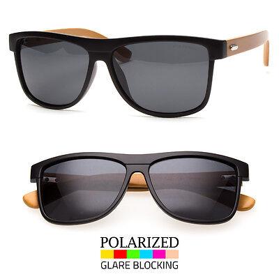 Bamboo Sunglasses Wooden Wood Men Retro Vintage Polarized Glasses Vintage
