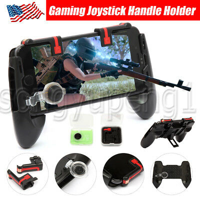 Pubg Mobile Phone Gaming Trigger Fire Button Handle For L1r1 Shooter Controller