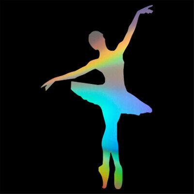 Dancing Girl Ballerina Ballet Dancer Car Decal Wall Stickers Kids Room Decor