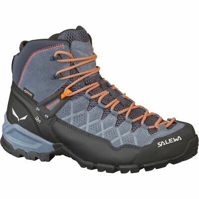 Salewa Alp Trainer Mid GTX Hiking Boot - Men's Ombre Blue/Fluo Orange (Salewa Alp Trainer Mid Gtx Hiking Boot)