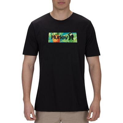 Hurley Mens Cotton Graphic Tee T-Shirt Top BHFO 5145