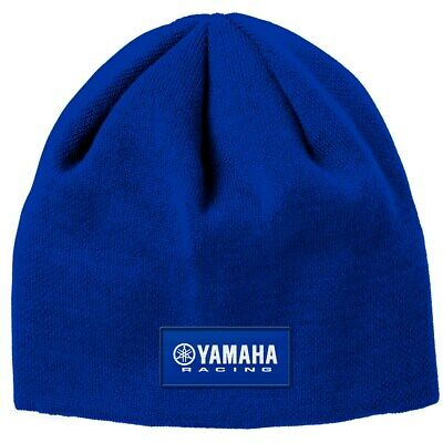 Used,  Yamaha Paddock Racing Beanie in Yamaha Blue - One Size - Brand New for sale  Shipping to India