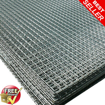 2 Pack of 6ftx3ft Welded Wire Mesh Panels 1