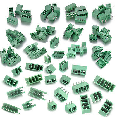 2345pins Terminal Block Connector Pitch 3.53.81 5.08mmscrew Plug