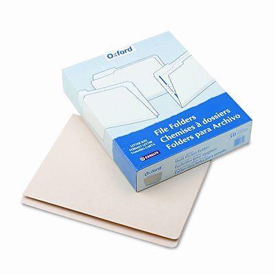 New 50pk Pendaflex Pocket Folders Straight Cut Tabs Manila Pfx16651