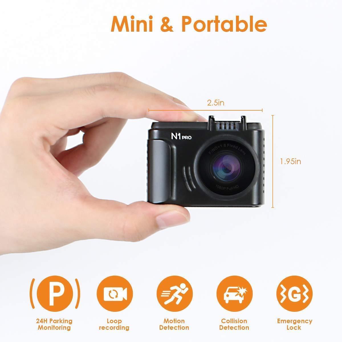Видеорегистратор Vantrue N1 Pro Mini Dash Cam Full HD