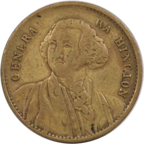 1800S QUARTER EAGLE COUNTER TOKEN GENERAL WASHINGTON - HIGH GRADE CIRCULATED