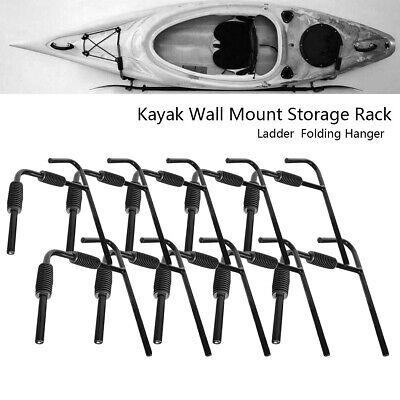 5 Pair Steel Wall Mount Kayak Rack Surfboard Wall Hanger Storage Bracket Holder
