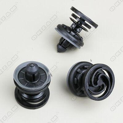 vw golf mk6 interior door trim panel clips x10 black for sale. Black Bedroom Furniture Sets. Home Design Ideas
