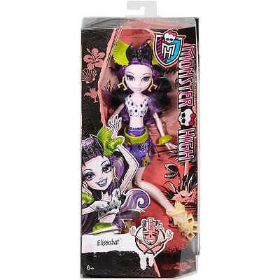 Monster High Ghouls' Getaway Elissabat Doll - Brand New