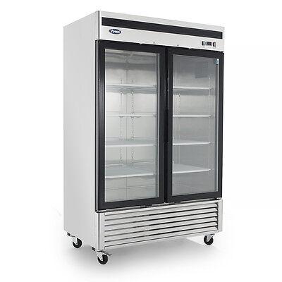 Atosa Mcf8703 Upright Glass Two2-door Freezer-bottom Mount-warranty