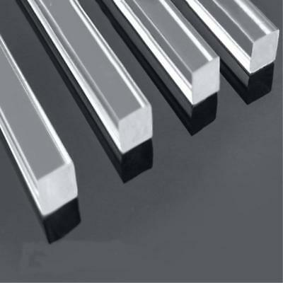 Us Stock Square 8pcs Clear Acrylic Plexiglass Lucite Rod Bar 6 X 6mm 250mm Long